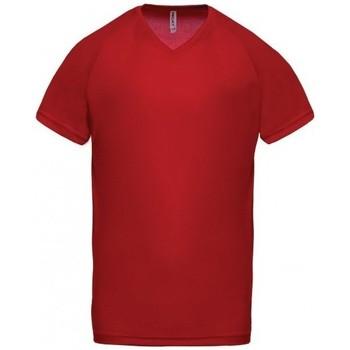 T-shirt με κοντά μανίκια Proact T-Shirt Col V Sport