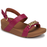 Παπούτσια Γυναίκα Σανδάλια / Πέδιλα FitFlop LOTTIE CHAIN BACK-STRAP SANDALS Fuchsia