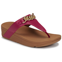 Παπούτσια Γυναίκα Σανδάλια / Πέδιλα FitFlop LOTTIE CHAIN TOE-THONGS Fuchsia
