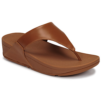 Παπούτσια Γυναίκα Σανδάλια / Πέδιλα FitFlop LULU LEATHER TOEPOST Caramel