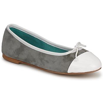 Παπούτσια Γυναίκα Μπαλαρίνες Les Lolitas FELL  BIANCO-GRIGIO