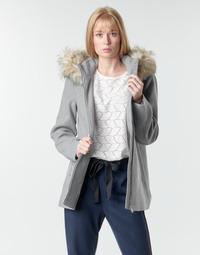 Υφασμάτινα Γυναίκα Παλτό Vero Moda VMCOLLARYORK Grey
