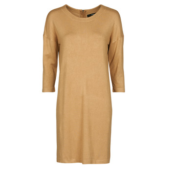 Υφασμάτινα Γυναίκα Κοντά Φορέματα Vero Moda VMGLORY Camel