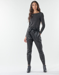 Υφασμάτινα Γυναίκα Παντελόνια Chino/Carrot Vero Moda VMEVA Black