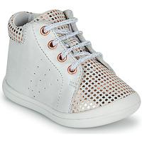Παπούτσια Κορίτσι Ψηλά Sneakers GBB NAHIA Άσπρο