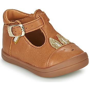 Παπούτσια Κορίτσι Μπαλαρίνες GBB ANINA Cognac
