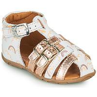 Παπούτσια Κορίτσι Σανδάλια / Πέδιλα GBB RIVIERA Άσπρο