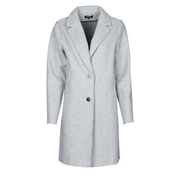 Υφασμάτινα Γυναίκα Παλτό Only ONLCARRIE BONDED Grey