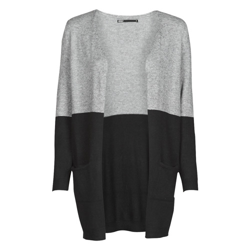 Υφασμάτινα Γυναίκα Πουλόβερ Only ONLQUEEN Black / Grey