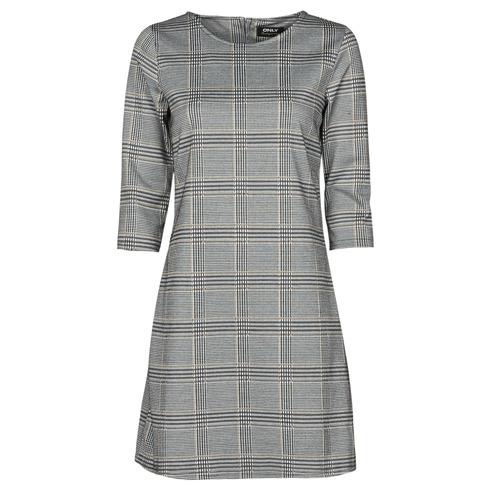 Υφασμάτινα Γυναίκα Κοντά Φορέματα Only ONLBRILLIANT Grey