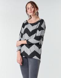 Υφασμάτινα Γυναίκα Μπλούζες Only ONLELCOS Grey / Black