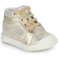 Παπούτσια Κορίτσι Ψηλά Sneakers GBB NAVETTE Gold