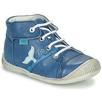Παπούτσια Αγόρι Ψηλά Sneakers GBB ABRICO Μπλέ