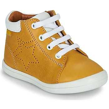 Παπούτσια Αγόρι Ψηλά Sneakers GBB BAMBOU Yellow