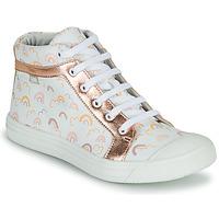 Παπούτσια Κορίτσι Ψηλά Sneakers GBB LEOZIA Ροζ