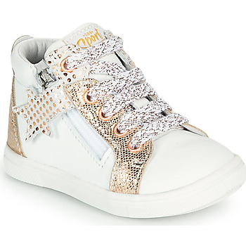 Παπούτσια Κορίτσι Ψηλά Sneakers GBB VALA Άσπρο