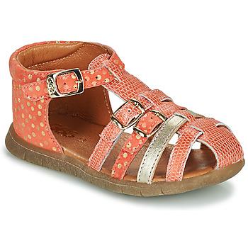 Παπούτσια Κορίτσι Σανδάλια / Πέδιλα GBB PERLE Red