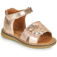 Παπούτσια Κορίτσι Σανδάλια / Πέδιλα GBB SATIA Ροζ / Χρυσο
