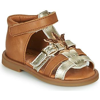 Παπούτσια Κορίτσι Σανδάλια / Πέδιλα GBB CARETTE Brown
