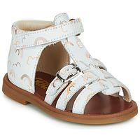 Παπούτσια Κορίτσι Σανδάλια / Πέδιλα GBB PHILIPPINE Άσπρο