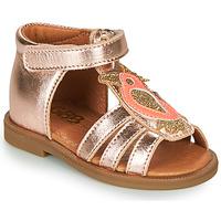 Παπούτσια Κορίτσι Σανδάλια / Πέδιλα GBB FRANIA Ροζ / Χρυσο