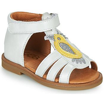 Παπούτσια Κορίτσι Σανδάλια / Πέδιλα GBB FRANIA Άσπρο