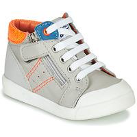 Παπούτσια Αγόρι Ψηλά Sneakers GBB ANATOLE Grey