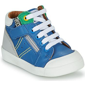 Παπούτσια Αγόρι Ψηλά Sneakers GBB ANATOLE Μπλέ