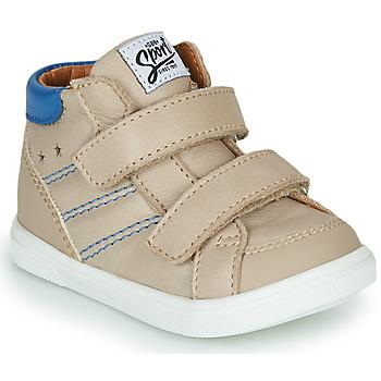 Παπούτσια Αγόρι Ψηλά Sneakers GBB MORISO Beige