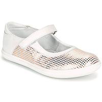 Παπούτσια Κορίτσι Μπαλαρίνες GBB PLACIDA Άσπρο
