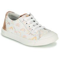 Παπούτσια Κορίτσι Χαμηλά Sneakers GBB MATIA Άσπρο / Ροζ