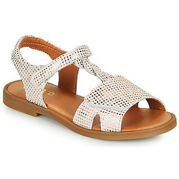Παπούτσια Κορίτσι Σανδάλια / Πέδιλα GBB FARENA Άσπρο / Ροζ / Χρυσο