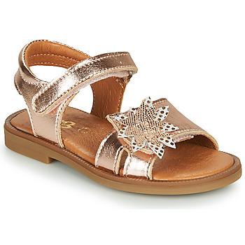 Παπούτσια Κορίτσι Σανδάλια / Πέδιλα GBB UPPLA Ροζ / Χρυσο