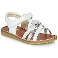 Παπούτσια Κορίτσι Σανδάλια / Πέδιλα GBB SUMY Άσπρο / Silver