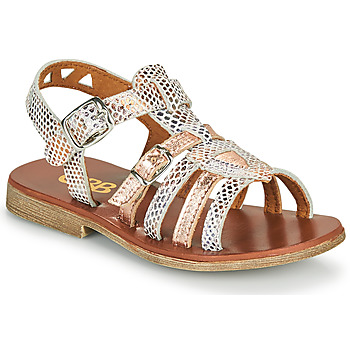 Παπούτσια Κορίτσι Σανδάλια / Πέδιλα GBB FANNI Άσπρο / Ροζ / Χρυσο