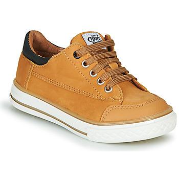 Παπούτσια Αγόρι Χαμηλά Sneakers GBB ETIO Cognac