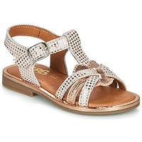 Παπούτσια Κορίτσι Σανδάλια / Πέδιλα GBB EGEA Άσπρο / Ροζ / Χρυσο