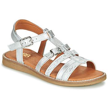 Παπούτσια Κορίτσι Σανδάλια / Πέδιλα GBB OLALA Silver