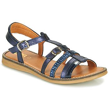 Παπούτσια Κορίτσι Σανδάλια / Πέδιλα GBB OLALA Μπλέ