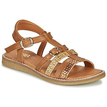 Παπούτσια Κορίτσι Σανδάλια / Πέδιλα GBB OLALA Brown