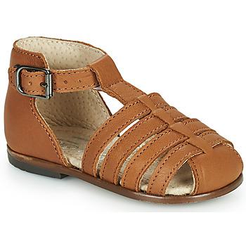 Παπούτσια Κορίτσι Σανδάλια / Πέδιλα Little Mary JULES Brown