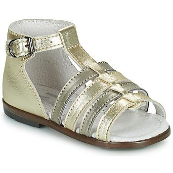 Παπούτσια Κορίτσι Σανδάλια / Πέδιλα Little Mary HOSMOSE Gold