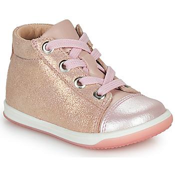 Παπούτσια Κορίτσι Ψηλά Sneakers Little Mary VITAMINE Ροζ