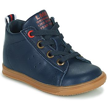 Παπούτσια Αγόρι Ψηλά Sneakers Little Mary LEON Μπλέ