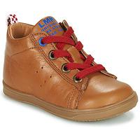 Παπούτσια Αγόρι Ψηλά Sneakers Little Mary LEON Brown