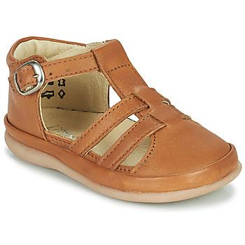 Παπούτσια Παιδί Μπαλαρίνες Little Mary LAIBA Brown