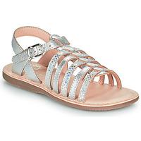 Παπούτσια Κορίτσι Σανδάλια / Πέδιλα Little Mary BARBADE Silver