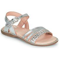 Παπούτσια Κορίτσι Σανδάλια / Πέδιλα Little Mary LIME Silver