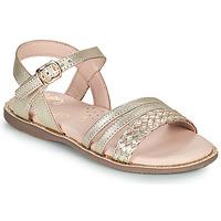 Παπούτσια Κορίτσι Σανδάλια / Πέδιλα Little Mary LIME Gold