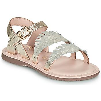 Παπούτσια Κορίτσι Σανδάλια / Πέδιλα Little Mary LORETTE Gold